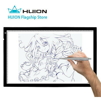 Huion Light Box 20.5x 12.6 Inch Tracing Board for Tattoo Tracing Artcraft Making
