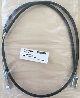41-8535 - Front Brake Cable - BSA - B40 Standard (1965 - 66) - WW80470
