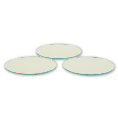 5 x 7 inch cheap glass craft oval mirrors bulk 100 pieces for Small round craft mirrors
