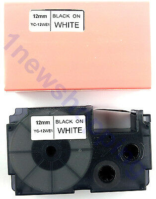 great quality compatible casio EZ-label 12mm XR label tape cartridge all color