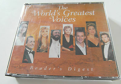The Worlds Greatest Voices / Various Artists  (5 x  CD Album ) Used Very Good