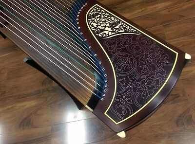 Dunhuang Collection Guzheng 698JM Elite Indian Rosewood Chinese Zither