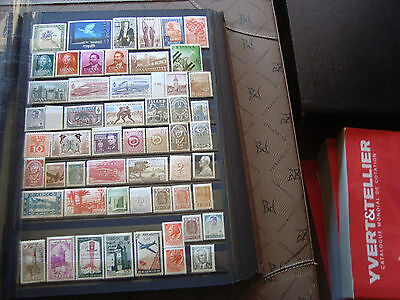 MONDE - 53 timbres n* ou n** stamp