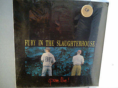 Fury In The Slaughterhouse - Pure live............................Vinyl