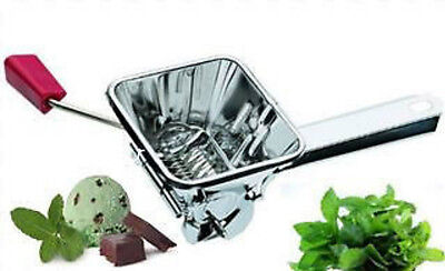 NEW Stainless Steel Parsley Mint Herb Cutter Chopper Grinder
