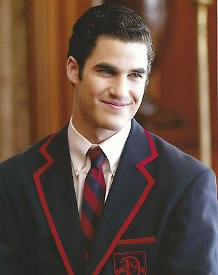 Darren Criss GLEE Blaine Anderson 8x10 Photo Picture Poster Girl Most Likely 2