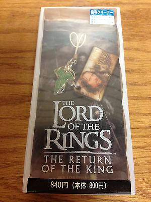 """LOTR Lord of the Rings """"Return of the King"""" Cellphone Charm ARAGORN"""