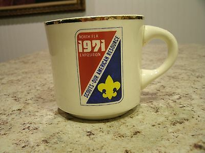 Vintage 1971 North FL Exposition Scouts Our American Resource Coffee Mug Cup USA