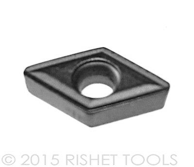 New World Products DCMT 21.50 AA Mp4 C5 Carbide Inserts Uncoat DCMT 070202 10pc