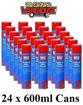 24 X POLYGARD CLUTCH or BRAKE CLEANER - LARGE 600ML CANS *SPECIAL OFFER* X 24