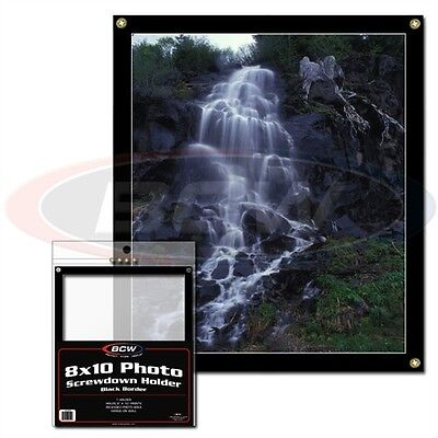 8 x 10 inch CARD DISPLAY FRAME SCREWDOWN - WALL MOUNTABLE X 2