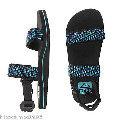 Chanclas Reef Convertible Black Blue flip flops infradito tongs