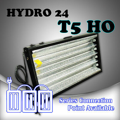 Hydroponics Grow light HYDRO 24 Propagator T5 HO 2FT 4x 24w = 96w 6500k tubes