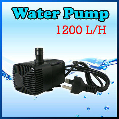 1200Lt per hour Water Pump for Hydroponic, Aquarium, Water Feature or Fountain