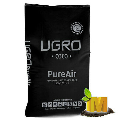 Pure Air Professional COCO COIR growing medium 50L hydroponics Grow Light users
