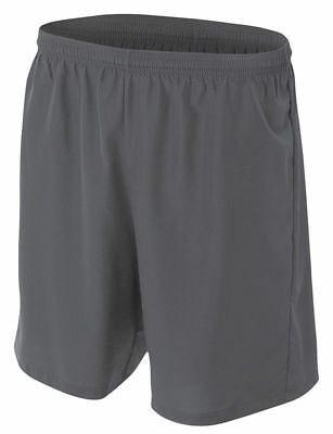 A4 Youth Comfortable Moisture Wicking Polyester Woven Soccer Short. NB5343
