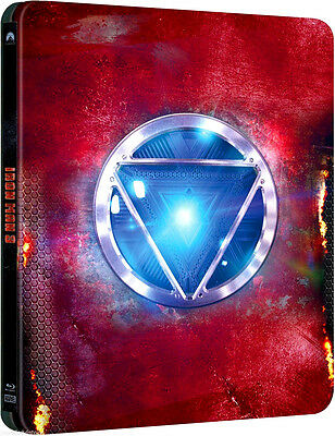 IRON MAN 3 STEELBOOK EDITION (BLU-RAY) COFANETTO FILM con Robert Downey Jr.