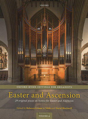Oxford Hymn Settings for Organists Easter & Ascension Organ Sheet Music Book