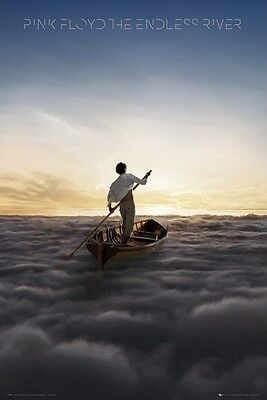 (LAMINATED) PINK FLOYD ENDLESS RIVER POSTER (61x91cm)  PICTURE PRINT NEW ART