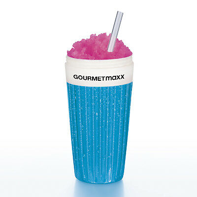 eismaxx Slush Ice Becher Magic Frozen Eis Freez blau crushed crush selbstgemacht