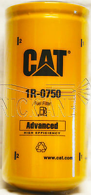 Genuine Cat 1R-0750 Fuel Filter Caterpillar 1R0750 Sealed Made In The Usa New!