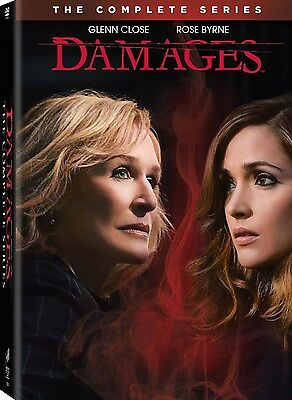 Damages: The Complete TV Series Seasons 1 2 3 4 5 DVD Boxed Set NEW!