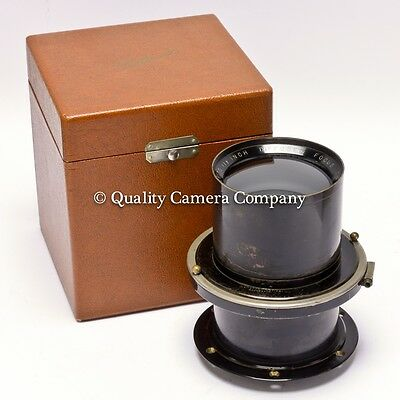 "Wollensak Verito 292mm (11½"") f/4 Diffuse Focus Lens VINTAGE PORTRAIT/PICTORIAL"
