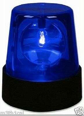 LED Police Beacon Blue Cop LIGHT Party Prop Decoration Decor Lighting Effects