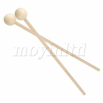 1 set of 2 Glockenspiel Xylophone Mallets/Sticks/Beaters,Medium hard nylon