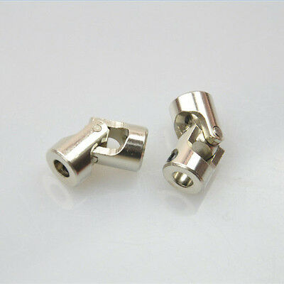 2pcs Metal Universal Joint Couplings CNC Wellenkupplung / Kardan 4mm to 3mm