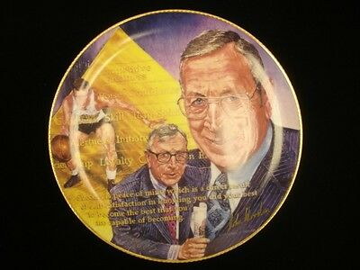 "1989 10.5"" Commemorative John Wooden UCLA Bruins Plate"
