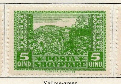 Albania 1922 Early Issue Fine Mint Hinged 5q. 135821