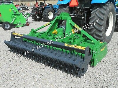 "Power Harrow &Packer Roller:Valentini PR2500, 101"",80-120HP;Best Specs&Features!"