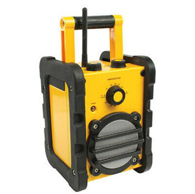 Ex-Pro Rugged and Robust Job Site Radio AM/FM, Battery or Mains Operated