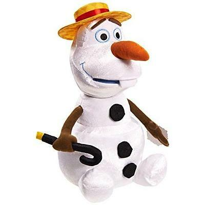 Disney Frozen Talking and Singing Olaf Plush New