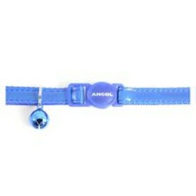 Ancol Cat Collar Gloss Reflective Blue, sgl Specially Designed To Snap Apart