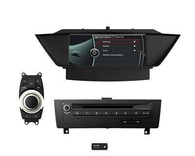 BMW X1 E84 Autoradio Touchscreen 3D GPS Navigation DVD USB Bluetooth + i-Drive