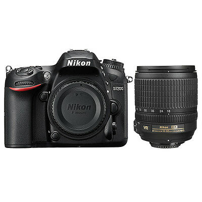Nikon D7200 Digital SLR Camera + AF-S DX NIKKOR 18-105mm f/3.5-5.6G ED VR Lens