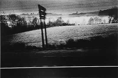 Jeanloup Sieff Limited Edition Photo Heliogravure 24x31 Paris-Toulouse, 1974 B&W