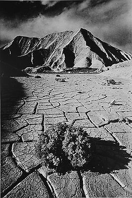 Jeanloup Sieff Photo Heliogravure 24x31 Vallée de la Mort 1977 Death Valley B&W