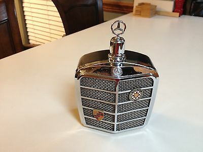 Vintage 1968 Mercedes Benz Grill Grand Prix Musical Decanter
