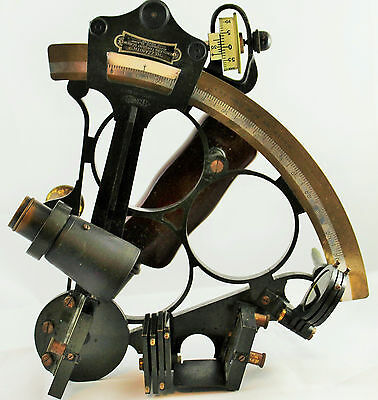 "1938 Naval Sextant Class ""a"" Heath & Co. New Eltham, London"