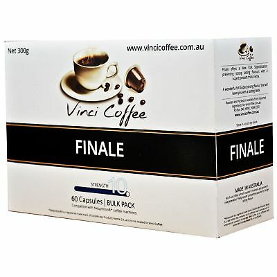 240 x Nespresso Compatible Coffee Capsules Top Strength FINALE Coffee Capsules