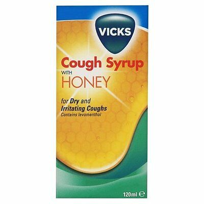 Vicks Cough Syrup with Honey 120ml