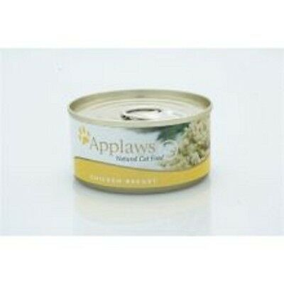Applaws Cat Chicken Breast, 70g Made With 75% Chicken Natural Ingredients