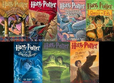 7 audiobooks - The Harry Potter Complete Series by JK Rowling { Mp3 /DVD} ACAD