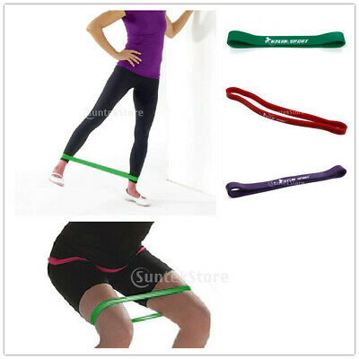 Banda Resistencia Entrenamiento Yoga Pilates Stretch Resistance Band Loop GYM