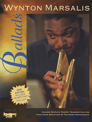 Wynton Marsalis Ballads Trumpet & Piano Sheet Music Book Transcriptions