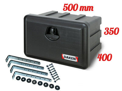 DAKEN Just 500 TOOL BOX 41L + MOUNTING BRACKETS / Truck Storage Box /Lorry /Bus