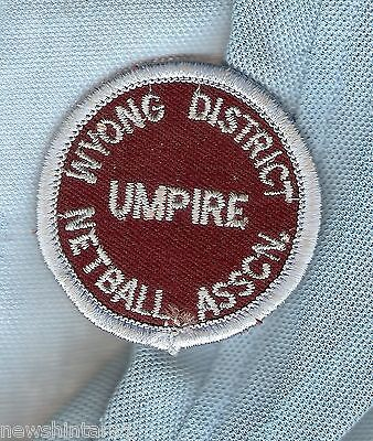 #d167.  Wyong District  Netball Cloth Patch,  Umpire